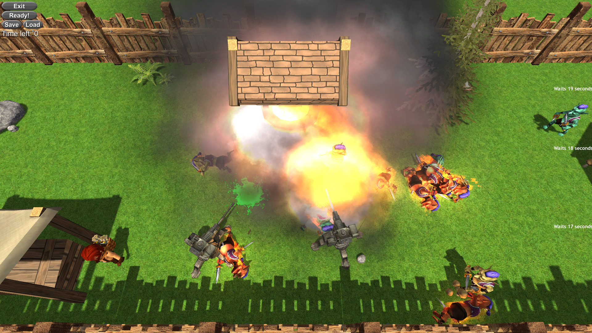 Bomb Defense game is a completely different take on the tower defense genre.